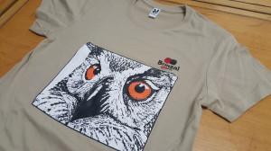 Camiseta Ojos de Búho real