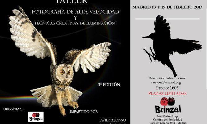 TALLER DE FOTOGRAFÍA DE ALTA VELOCIDAD Y TÉCNICAS CREATIVAS DE ILUMINACIÓN